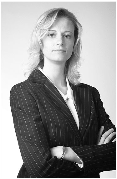 Businessportrait Frau im fotostudio