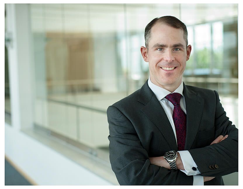 Businessfotografie-München Mann in KVR mit dem Hintergrund