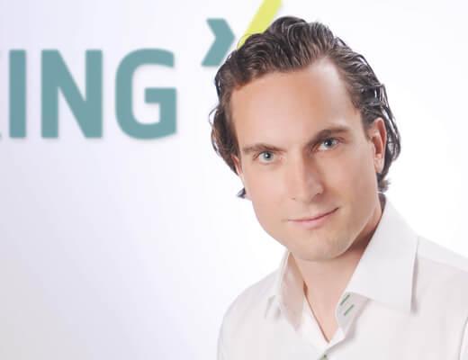 Businessportrait Xing-Geschäftsführer, Fotostudio Portrait