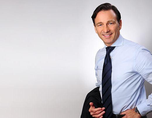 Bewerbungsfotos München Mann mit der Krawatte