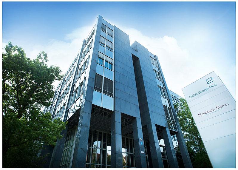Firmenshooting Gebäude Für die Firmenfotos München