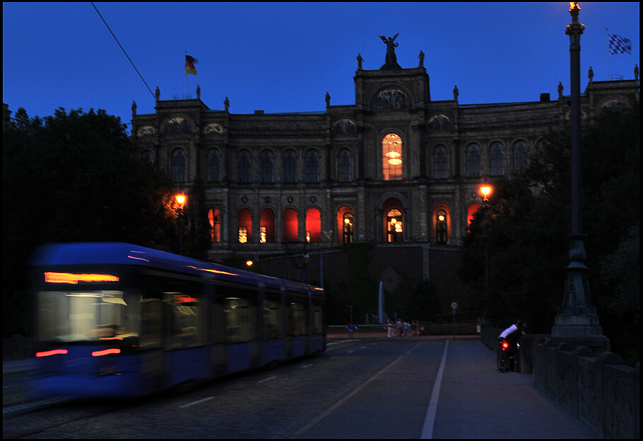Maximilianeum Straßenbahn