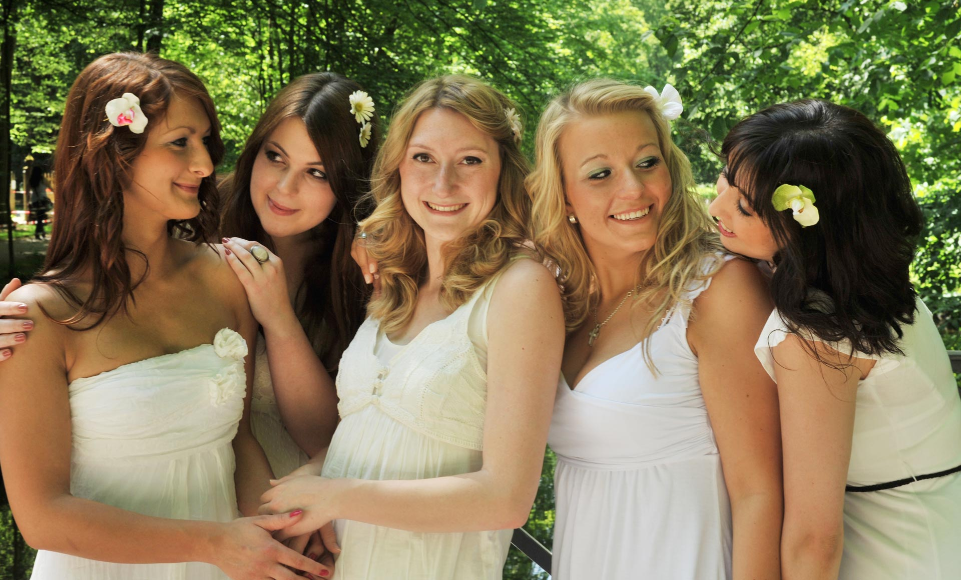 Junggesellenabschied JGA Fotoshooting Bachelors Outdoor