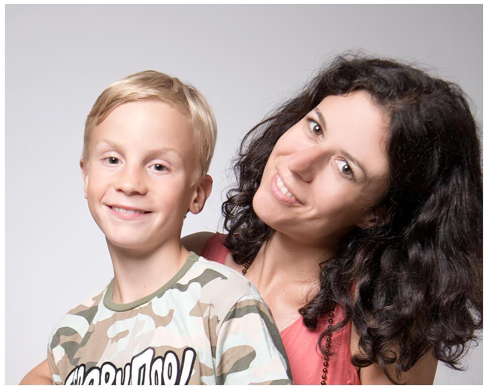 Kinder Familien Fotoshooting Mama Sohn Shooting