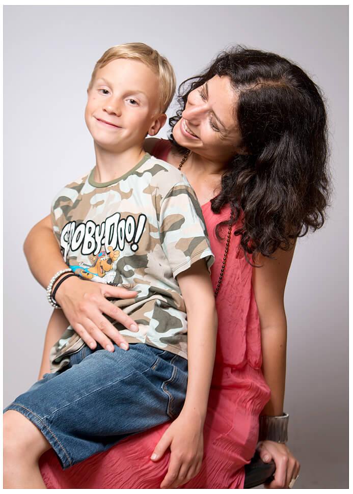 Kinder Familien Fotografie Mama Sohn