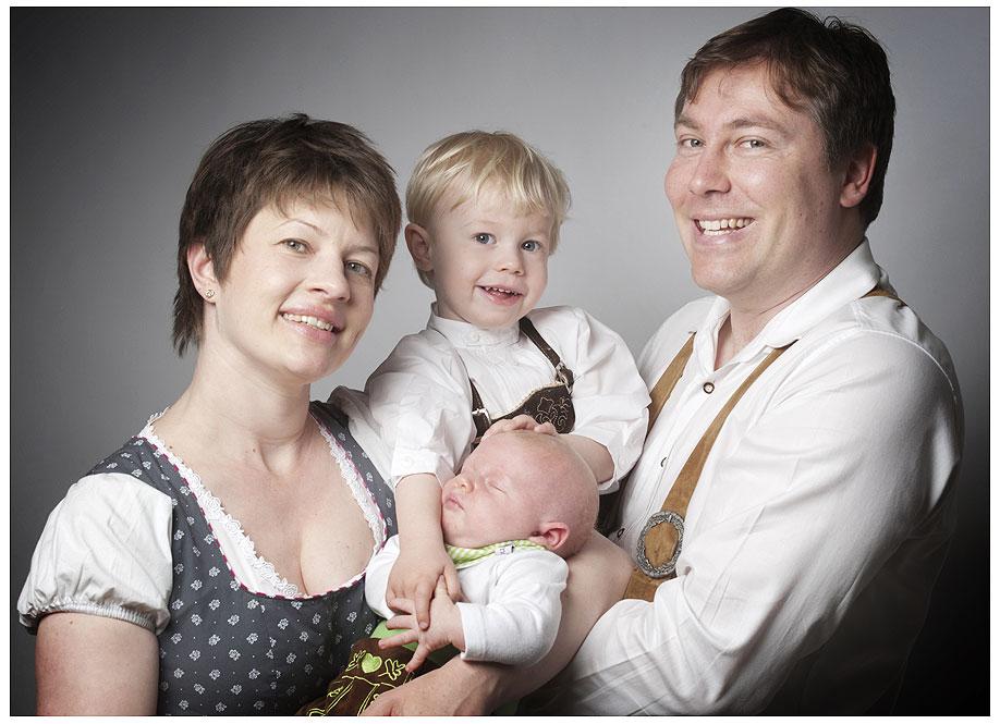 Familienfoto Tracht Fotostudio