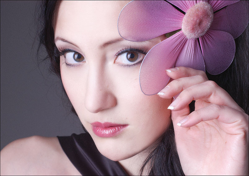 Beauty shooting Fotostudio Blumenfoto