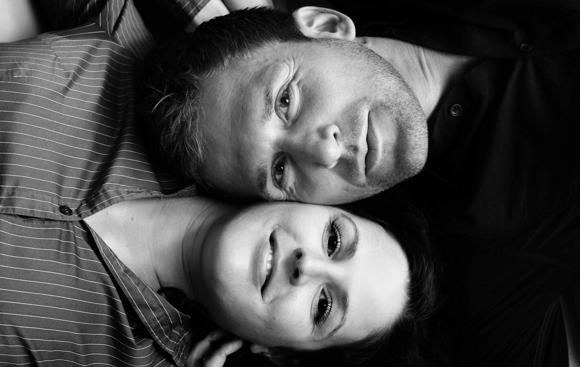 Paarshooting Mann und Frau