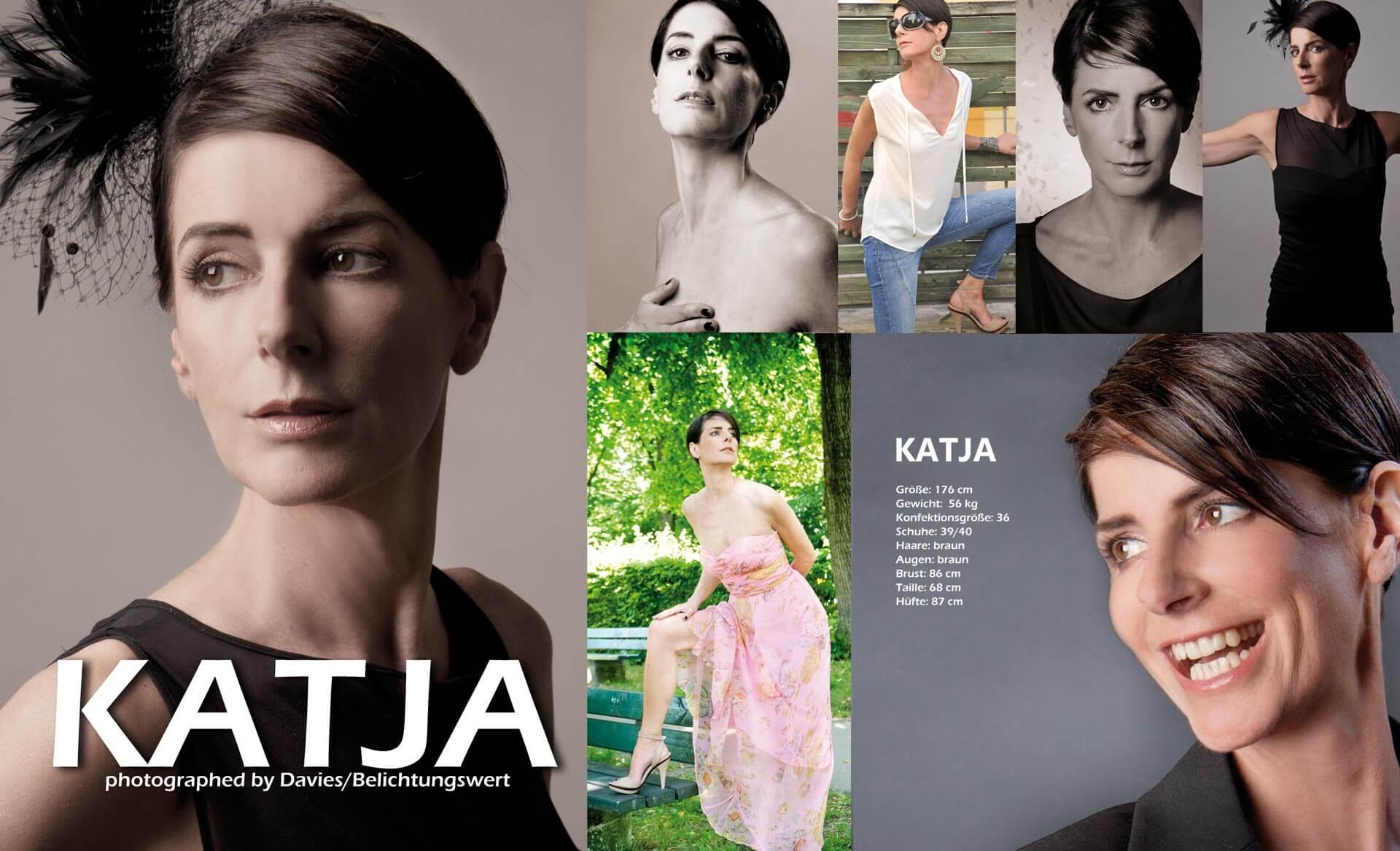 Sedcards Für Models Reife Frau für Werbung und Figur